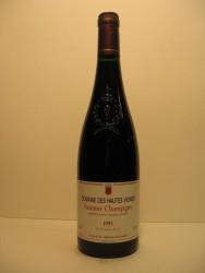 Saumur-Champigny 1995 Hautes Vignes