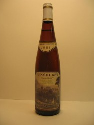 Penshurst 1986 English table wine 1984