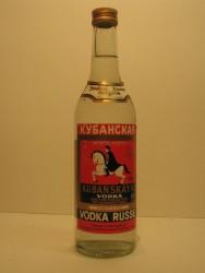 Vodka d'origine russe - 1/2 bouteille