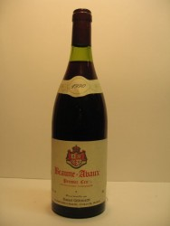 Beaune Avaux 1990 1er Cru